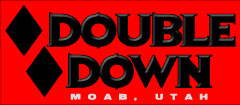 double down bike shop logo