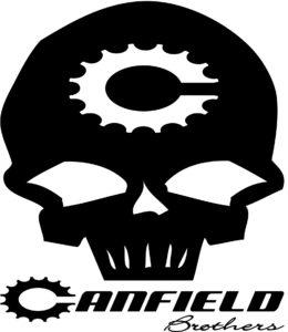 Canfield Skull logo